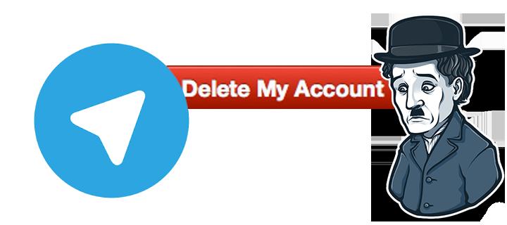 دلیت اکانت تلگرام
