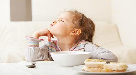 آیا فرزند شما غذا نمی خورد؟