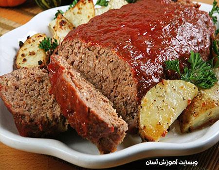 آموزش درست کردن رولت گوشت