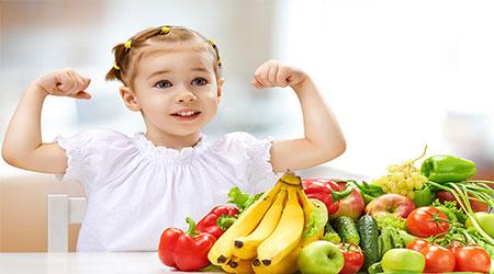 برنامه غذایی کودک خوش قد و بالا